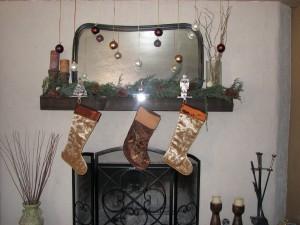The Den Fireplace