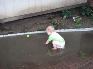 Rain/Mud Puddle Splashin'